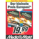 Fast & Furious Complete Collection (Teil 1-5) auf Blu-ray / DVD um 19,99 Euro