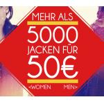 Über 5000 Winterjacken (z.B.: Bench, Carhartt,..) für Damen & Herren um 50 Euro!