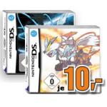 Nintendo 3DS Pokemon 2 (weiße oder schwarze Edition) um je nur 10 Euro inkl. Versand