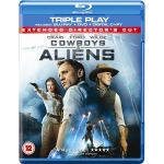 Cowboys & Aliens: Triple Play (Blu-ray + DVD + Digital Copy) inkl. Versand um 5,49 Euro