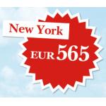 Austrian Wochenangebot: Stockholm um 108 Euro / New York (kompletter April & Mai!) um 564 Euro