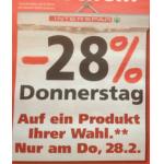 Interspar: -28% Rabatt auf ein Produkt eurer Wahl (inkl. Onlineshop)