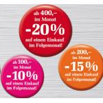 Billa Rabatt-Sammler: bis zu -20% Rabatt auf einen beliebigen Einkauf