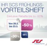 SCS Gutscheinheft (z.B.: -10% auf alle iPads (ausgenommen Mini) bei DiTech)