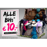 BHs um je 10 Euro + Outlet Ware + 2 Gutscheincodes bei beate-uhse.at