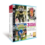 PS3 Triple Pack: Tomb Raider Underworld, Fuel & Sega Superstar Tennis inkl. Versand um ca. 10 Euro