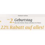 C&A Onlineshop: 22% Rabatt auf alles bis zum 17. März 2013
