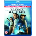 Cowboys & Aliens: Triple Play (Blu-ray + DVD + Digital Copy) inkl. Versand um 5,68 Euro