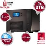 Iomega StorCenter™ ix4-300d 4-bay NAS mit 2x 2TB um 408,90€ statt 515€ bei iBOOD.at