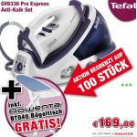 Tefal GV8330 Dampfbügelstation inkl. Rowenta BT0490 Bügelbrett um 169 Euro