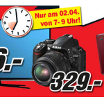 Media Markt Frühshoppen Angebote am 2. April 2013 von 7 – 9 Uhr