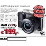 Samsung NX1000 (EVIL) schwarz mit Objektiv 20-50mm um 199€ bei electronic4you