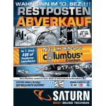 Saturn Columbus Center: Restposten – Abverkauf