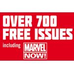 über 700 gratis Marvel Comics bei ComiXology und Marvel Online (heute & morgen anmelden und am 11.4.2013 runterladen!)