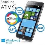 Samsung i8750 ATIV S WP8 Smartphone um 325,90€ bei iBOOD