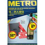 Metro Wiener Neustadt Eröffnung – Angebote für ALLE Filialien vom 18. – 24.4.2013