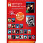4 Blu-rays für 30 Euro bei Müller und Amazon