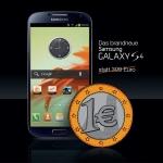 Samsung Galaxy S4 um 1€ (mit Vertrag) am 27.4. beim Orange Shop Stephansplatz