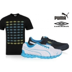 Puma Laufschuhe + Umbro T-Shirt inkl. Versand um ca. 36 Euro
