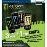 Monster Energy Drink 3+1 gratis Aktion bei Metro Österreich