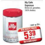 Illy Cafe Espresso um nur 6,47 Euro bei Metro Österreich