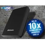 Verbatim externe 2,5″ Festplatte 500GB SATA – USB 3.0 inkl. Versand um 45,80 Euro