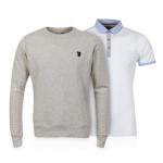 Pullover / Sweatshirts -50% + Polo kostenlos (z.B.: Pulli + Polo inkl. Versand um ca. 16 Euro)