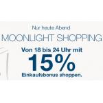 Heute zwischen 18 und 23.59 Uhr 15 % im Tom Tailor Onlineshop