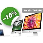-10% auf Apple Produkte bei DiTech bis 11.5.