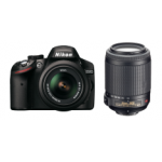 Saturn Tagesdeal: Nikon D3200 Body + 18-55mm VR + 55-200mm VR um 533 Euro