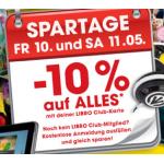 Libro Club Spartage, -10 % auf alles nur heute & morgen