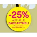 -25% für  BIPACard BabyClub Mitglieder