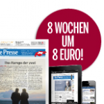 """""""Die Presse"""" im Schnupperabo um 8€ für 8 Wochen"""