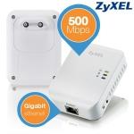 ZyXEL PLA4205 Powerline GBit Ethernet Kit um 45,90€ bei iBOOD