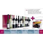 12 Flaschen Qualitätswein um 89,- Euro = 54% Ersparnis