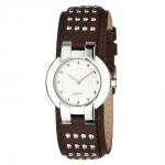 Esprit Damen-Armbanduhr XS Analog Leder inkl. Versand um 26,42 Euro