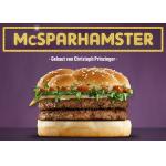 Vote für den McSparhamster beim McDonalds Mein Burger Contest!