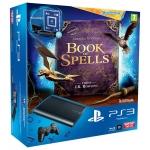 SONY PS3 Super Slim 12GB + Wonderbook Starter Pack  für 155 €
