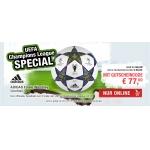 Hervis: Champions League Spielball – Adidas Finale Wembley um 77 €