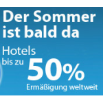 Top: 20% Rabatt auf Hotelbuchungen bei eBookers mit Gutscheincode