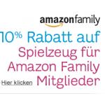 10% auf Spielwaren für Amazon Family Mitglieder bis 30.06.2013