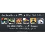 Mac Game Store: Feral Games Bundle