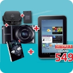 Haas: Samsung NX-1100 + Galaxy Tab 2 7.0 Tab + Adobe Lightroom 4.0 + Zubehör um 549 Euro