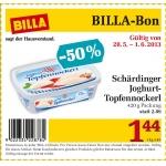 – 50 % auf Schärdinger Joghurt Topfennockerl