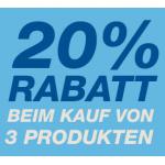 20% Rabatt beim Kauf von 3 Haushaltsprodukten bei Amazon.de