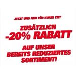 20% Rabatt auf das gesamte Sortiment bei Sportoutlet vom 3.6. – 8.6.2013