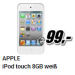 3 Aktionsangebote von Media Markt – z.B. Apple iPod Touch 8GB um 99 Euro