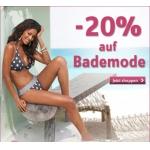 -20% auf Bademode bei Universal bis 08.06.2013