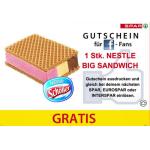 Gratis Schöller Big Sandwich bei Spar mit Gutschein