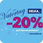 Delka: -20% auf nicht reduzierte Herrenschuhe